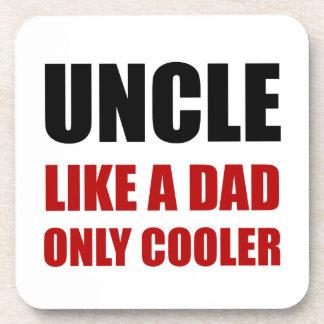 Uncle Like Dad Cooler Beverage Coaster