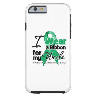 Uncle - Liver Cancer Ribbon.png Tough iPhone 6 Case