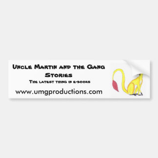 Uncle Martin Bumper Sticker