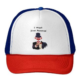 Uncle Monkey Trucker Hat
