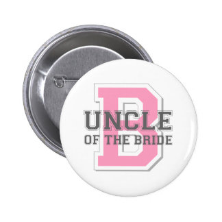 Uncle of the Bride Cheer Button