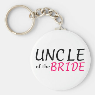 Uncle Of The Bride Keychain