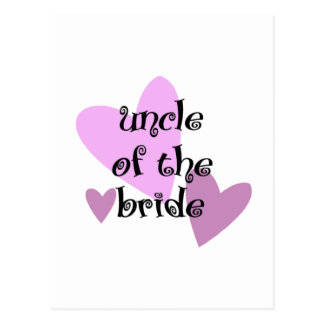 Uncle of the Bride Postcard