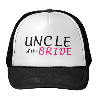 Uncle Of The Bride Trucker Hat