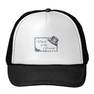 UNCLE OF THE GROOM TRUCKER HAT