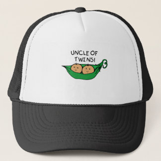 Uncle of Twins Pod Trucker Hat