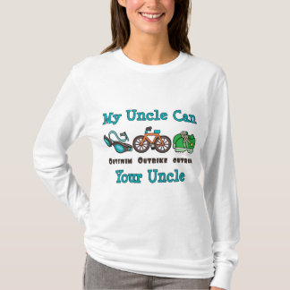 Uncle Outswim Outbike Outrun Triathlon Hoodie