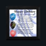 "Uncle Poem - Happy Birthday Jewelry Box<br><div class=""desc"">A great gift for an uncle on his birthday</div>"