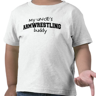 Uncle s Armwrestling Buddy Tee Shirt