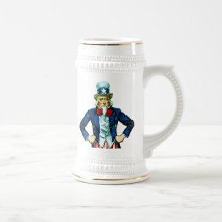Uncle Sam 18 Oz Beer Stein