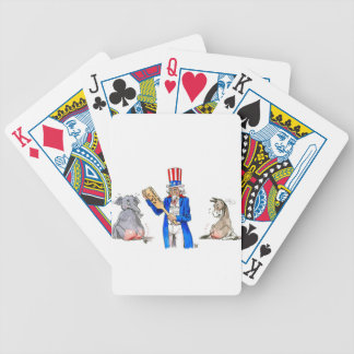 Uncle Sam 2 Bicycle Playing Cards