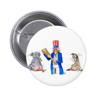 Uncle Sam 2 Button