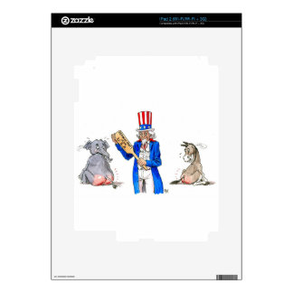 Uncle Sam 2 iPad 2 Decal