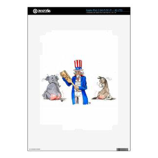 Uncle Sam 2 iPad 3 Skins