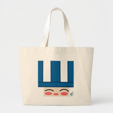 jasmineflynn Uncle Sam 2 Large Tote Bag