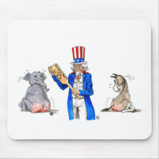 Uncle Sam 2 Mouse Pad
