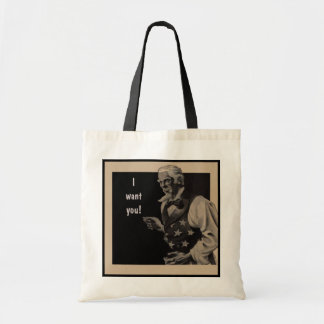 Uncle Sam 2 Tote Bag
