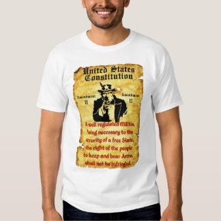 Uncle Sam: 2nd Amendment Tshirt