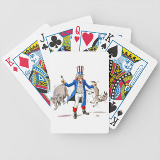 Uncle Sam 3 Bicycle Playing Cards