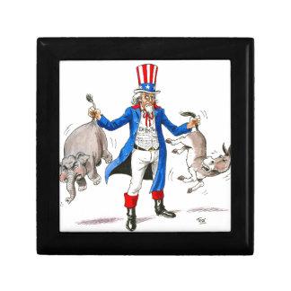 Uncle Sam 3 Keepsake Box
