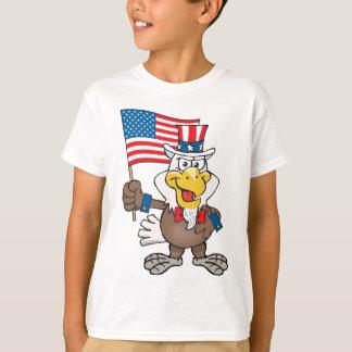 Uncle Sam 4th of July Bald Eagle T-Shirt
