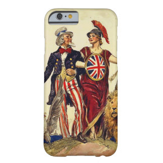 Uncle Sam and Britannia Barely There iPhone 6 Case