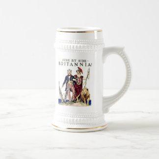 Uncle Sam and Brittanica Mug