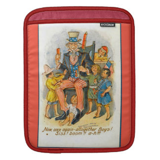 Uncle Sam and the kids! Sleeve For iPads