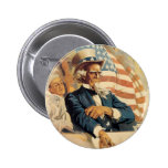 Uncle Sam and the Navy Button