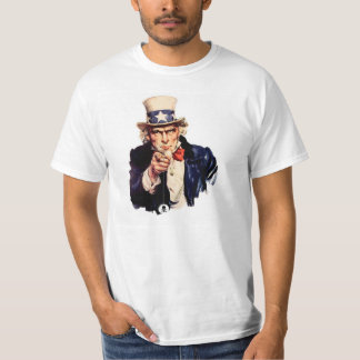 Uncle Sam and the yo yo of death T-Shirt