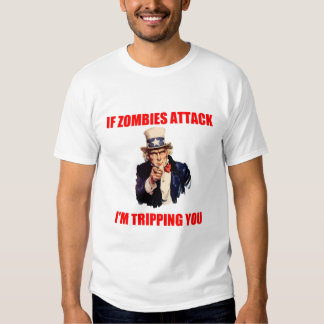 UNCLE SAM AND ZOMBIES T-SHIRT