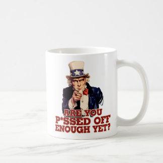 Uncle Sam Anti Government Classic White Coffee Mug
