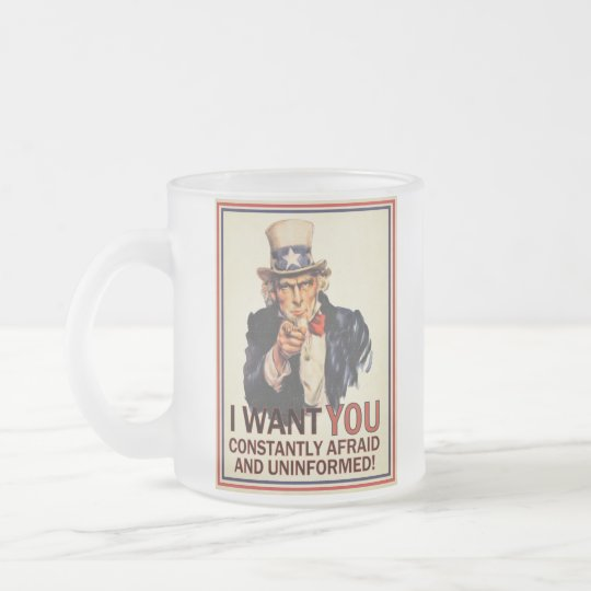 Uncle Sam Anti-Propaganda Mug