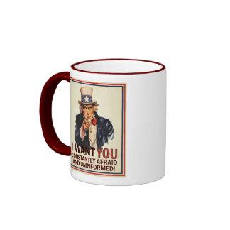 Uncle Sam Anti-Propaganda Mug