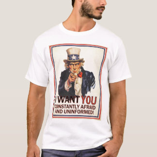 Uncle Sam Anti-Propaganda Shirt
