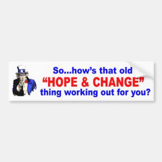 Uncle Sam asks a question Car Bumper Sticker