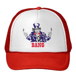 Uncle Sam Bangs Mesh Hat