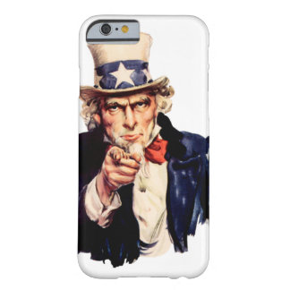 Uncle Sam Barely There iPhone 6 Case