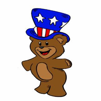 Uncle Sam Bear Cutout