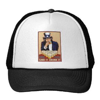 Uncle Sam Beer Pong Hat