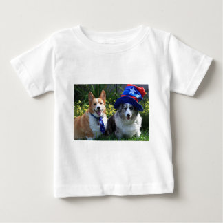 Uncle Sam & Betsy Ross Baby T-Shirt