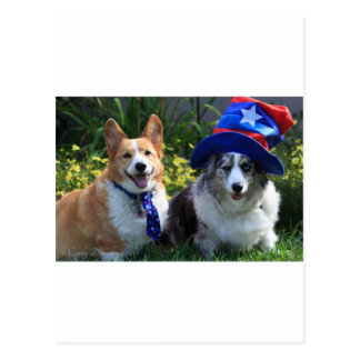 Uncle Sam & Betsy Ross Postcard