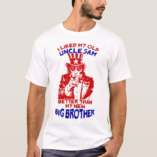 Uncle Sam Big Brother T-Shirt