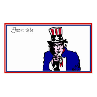 Uncle Sam Business Cards