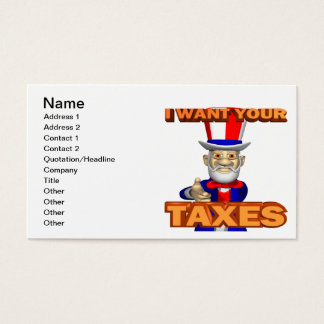 Uncle Sam Business Card