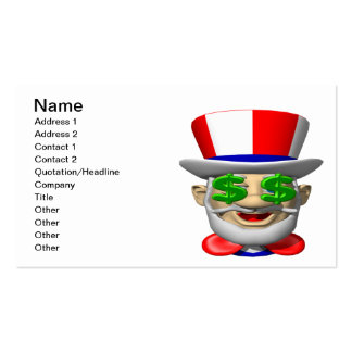 Uncle Sam Business Card Template