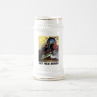 Uncle Sam -- Buy War Bonds 18 Oz Beer Stein