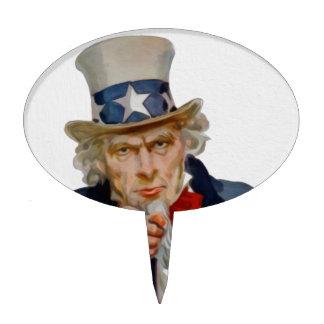 Uncle Sam Cake Topper
