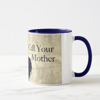 """Uncle Sam """"Call Your Mother"""" Mug"""
