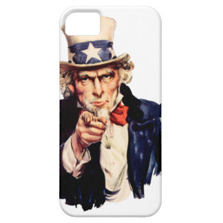 Uncle Sam iPhone 5 Cover